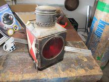 Locomotive rear light metal # 6