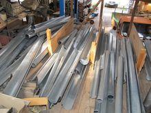 Roof gutter accessories zinc #