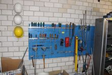 Tool wall with screwdrivers # 6
