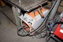 Protective gas welding machine