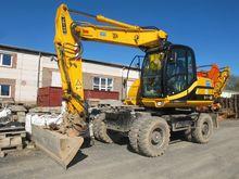 Mobile excavator JCB JS 145W #