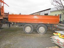 Truck tipping trailer HOENKHAUS