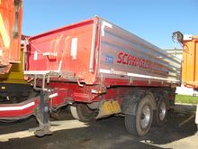 Truck Central Axle 3-Sided Tipp