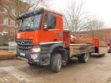 Truck tipper MERCEDES-BENZ Aroc