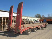 Low loader-trailer MÜLLER MITTE