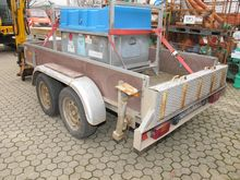 Car trailer HUMBAUR HS 250 # 68