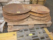 Shaft covers steel # 68868