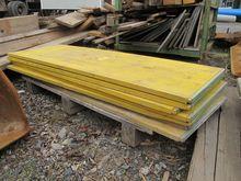 Formwork boards wood yellow # 6
