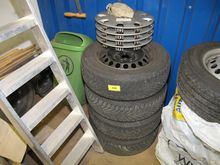 Winter tires set CONTI Winterco