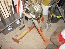 Cable winch Hand crank operatio