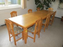 Dining Table Wood # 69668