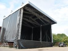 Trailer platform Open air stage