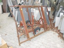 Plate transport rack steel # 69