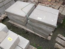Concrete slabs and paving stone