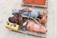 Electric motors for crane PEINE