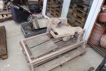 Wet stone cutting table CEDIMA