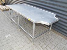 Ceramic table, aluminum # 70787