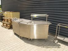 Dining counter SILKO stainless