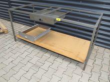 Workbench base steel gray # 709