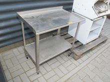 Stainless steel table # 70954