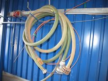 Spiral hoses with suction nozzl