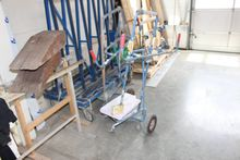 Vertical plate transport carts