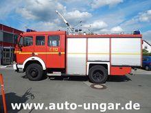 1993 Mercedes 1222 AF fire depa