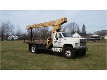 Used FORD F800 Boom