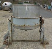 700 gallon.stainless steel.open