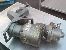 Brawn Mixer  Air Operated Clamp