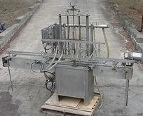 8 spout in line semi auto press