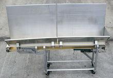 "Ss Sanitary Belt Conveyor 10"" W"