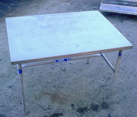 3 X 4 Ss Work Table 3 X 4 Table