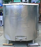 850 Gallon Jacket Mixing Tank 8