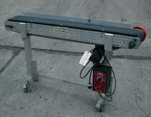 "6"" x 48"" belt conveyor with pol"