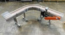 "Garvey Curve Conveyor 10"" X 90"