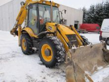 2007 JCB 3CX Super Backhoe load