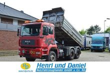Used 2004 MAN Tipper