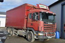 2004 Scania 124 6X2 470 Box tru