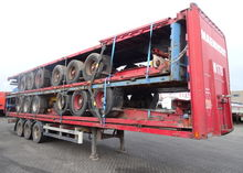 2000 Van Hool stack of 5 flatbe
