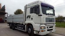 2001 MAN 460 Curtainsider truck