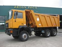 1992 MAN 26.372 Tipper