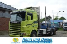 1997 SCANIA Timber transport
