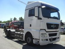 2011 MAN 26480TGX /6X2 Containe