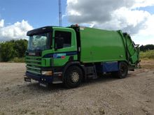 2002 SCANIA P94 Garbage truck