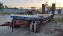 1989 Altri CTC Flatbed trailer