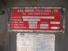 2006 KELBERG Curtainsider semi-