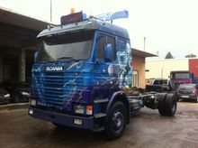 1991 Scania 143 400 (4x2) chass