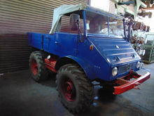 1958 Unimog U411 Open body deli