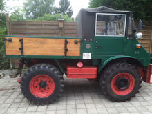 1960 Unimog U411 Open body deli
